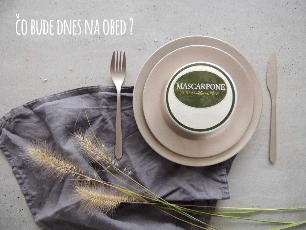 Recepty z mascarpone