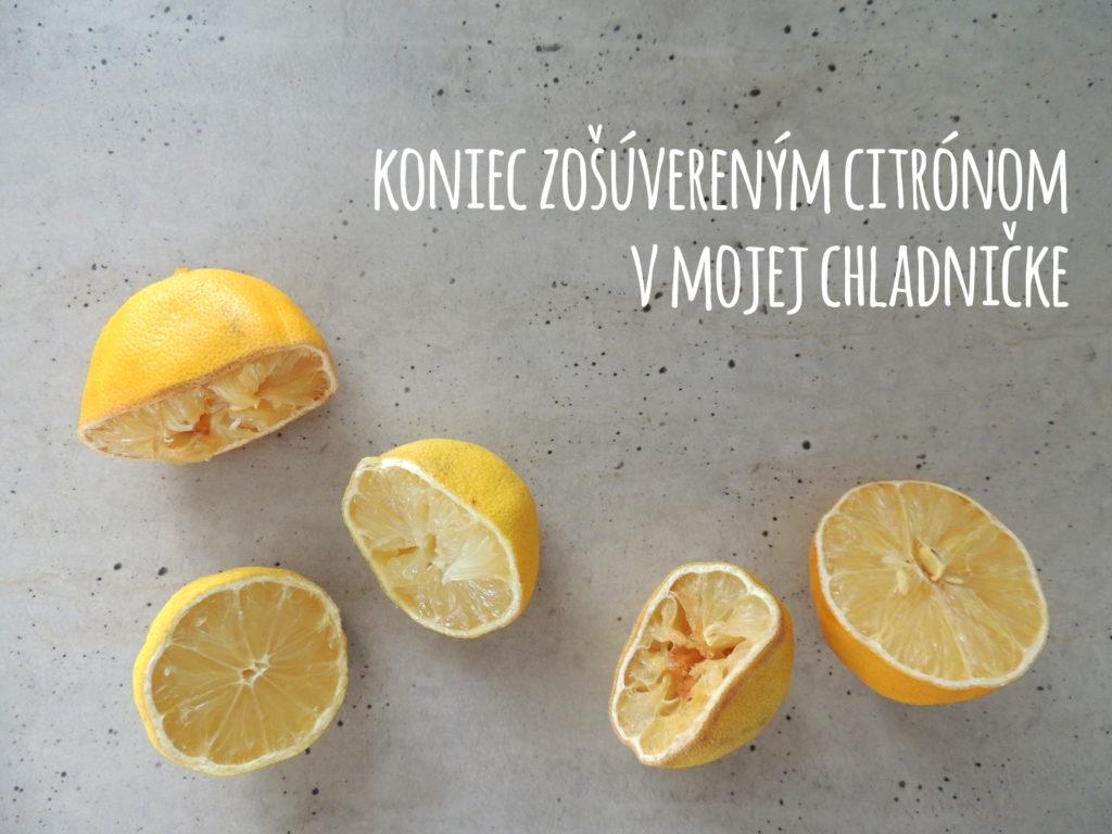zvyšky citrónov