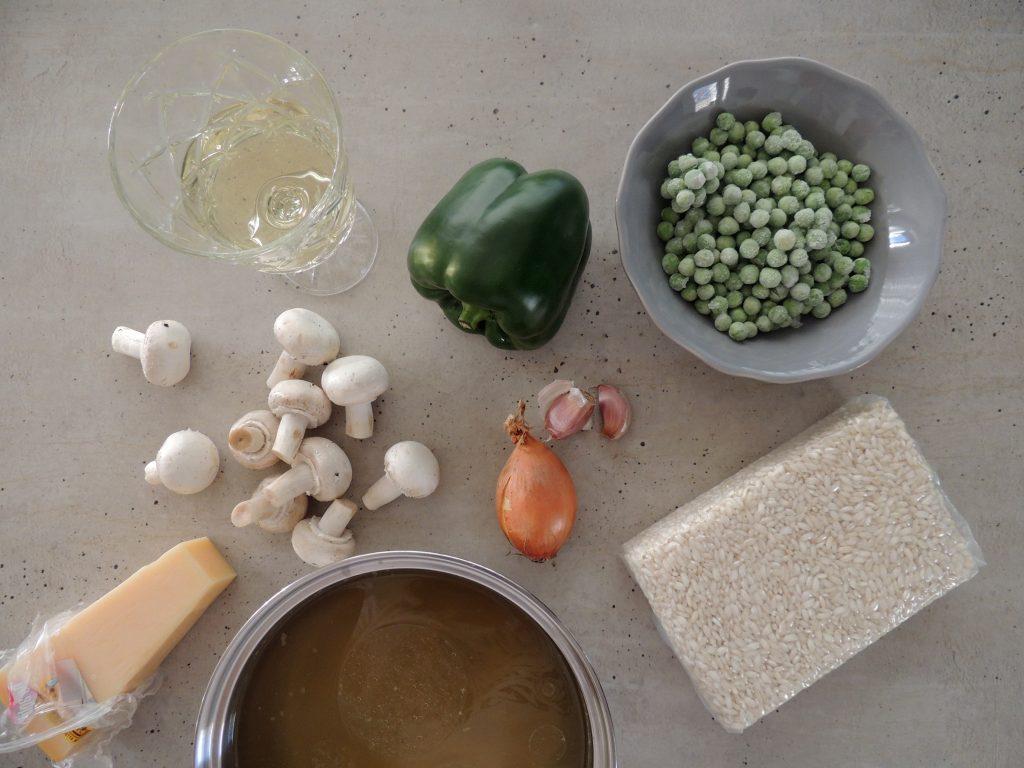 Príprava risotta