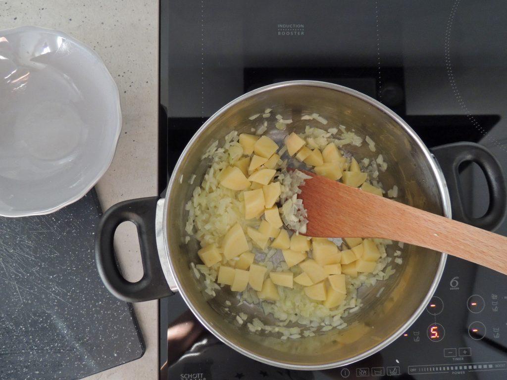 Suroviny na polievku