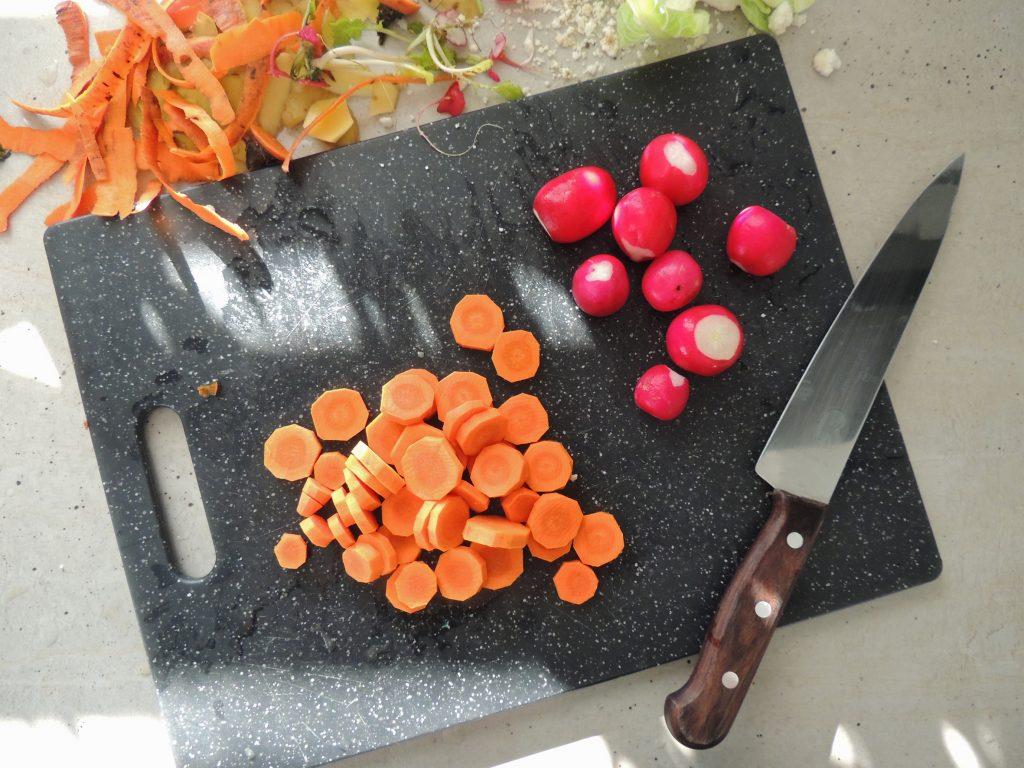 Príprava pečenej zeleniny