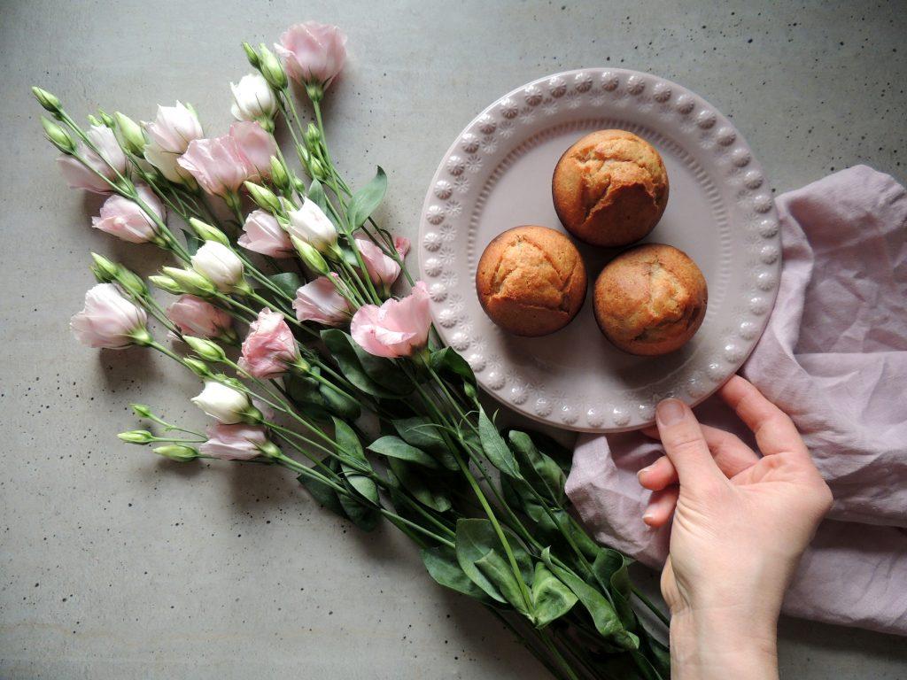 Kváskové muffiny s jogurtom