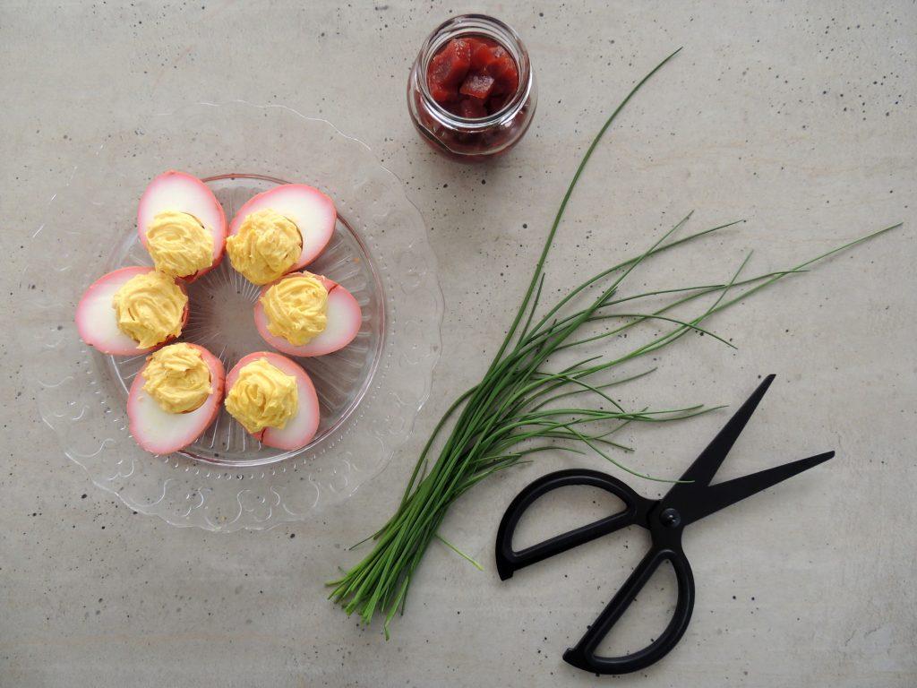 Plnené vajcia