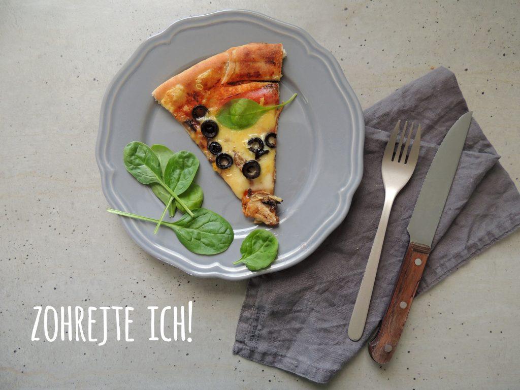 čo so zvyškami pizze?