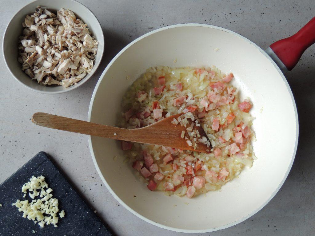 Príprava mäsovej plnky