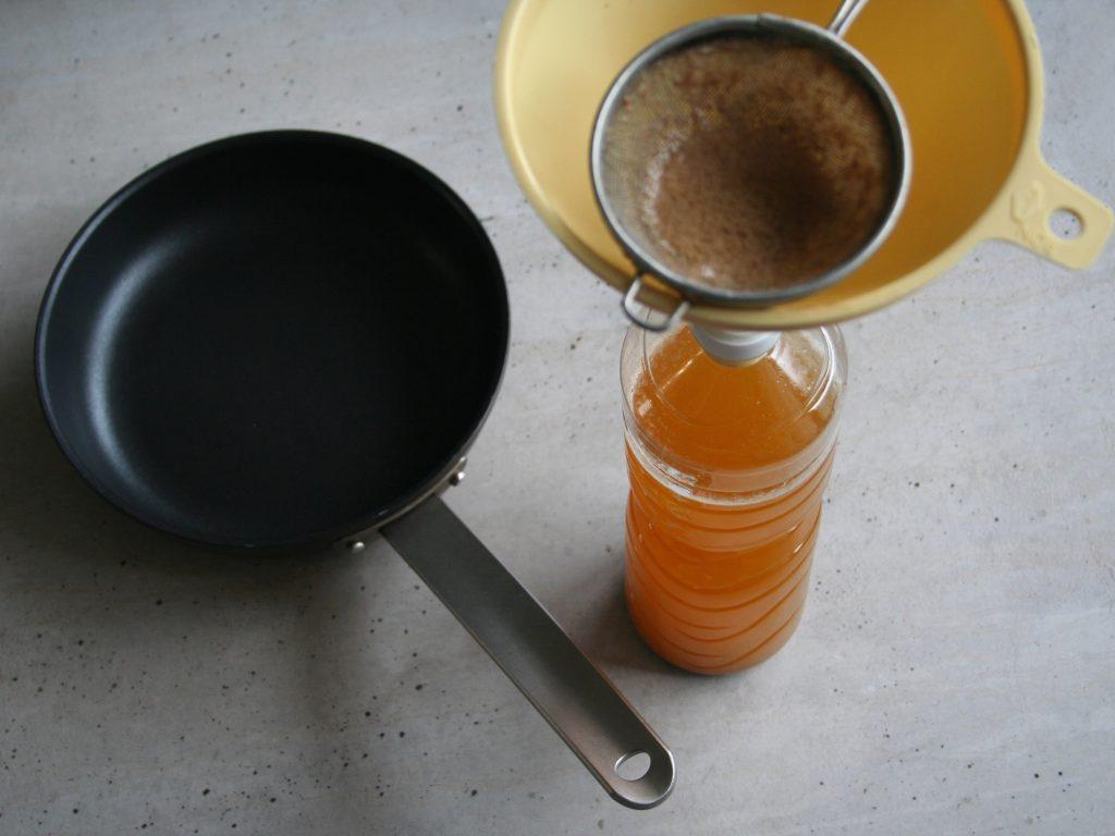 prepálený kuchynský olej