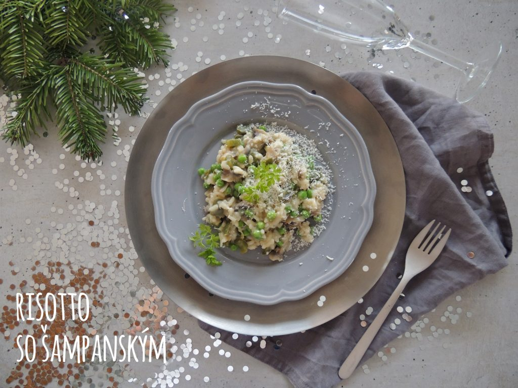 Risotto so sampanskym