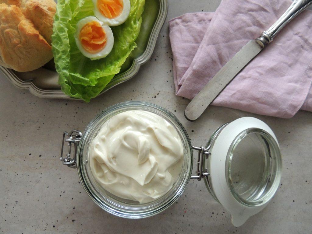 majonéza z aquafaby