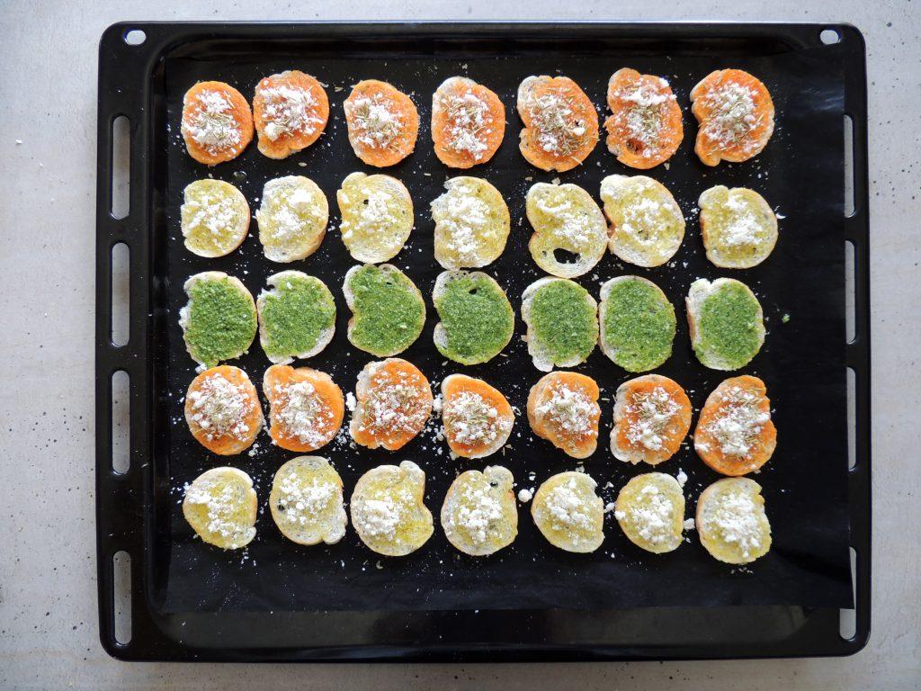 príprava domácich Bake Rolls