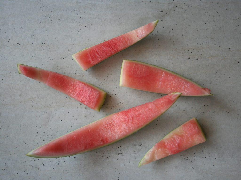 Melónové šupky